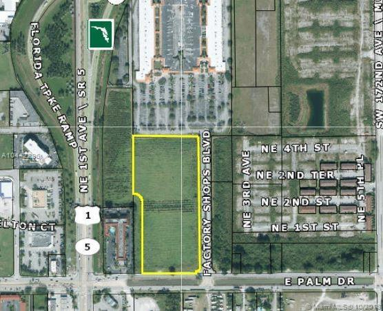 E Palm Drive, Florida City, FL 33034 (MLS #A10442296) :: Berkshire Hathaway HomeServices EWM Realty