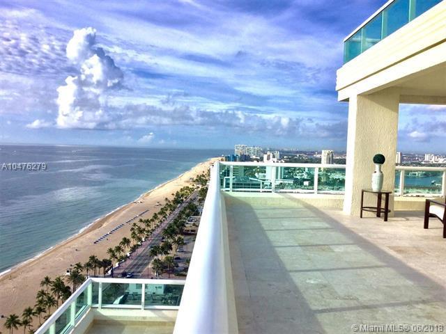 101 S Fort Lauderdale Beach Blvd Ph-2701, Fort Lauderdale, FL 33316 (MLS #A10476279) :: Green Realty Properties