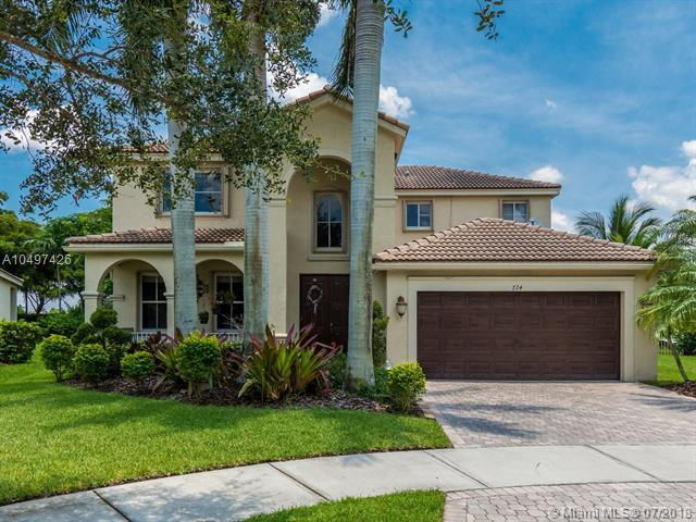 724 Tulip Cir, Weston, FL 33327 (MLS #A10497426) :: Laurie Finkelstein Reader Team