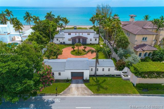 365 Ocean Blvd, Golden Beach, FL 33160 (MLS #A10497963) :: Keller Williams Elite Properties