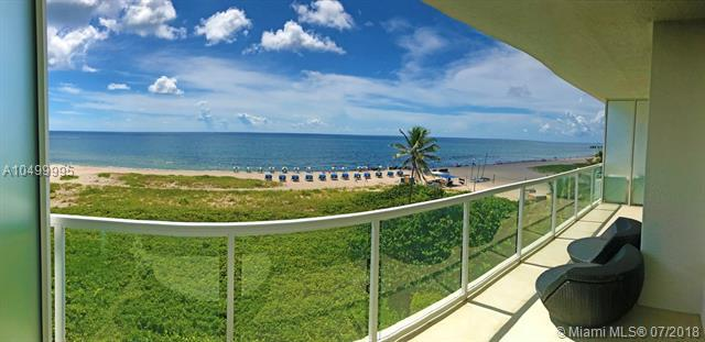 704 N Ocean Blvd #402, Pompano Beach, FL 33062 (MLS #A10499995) :: The Teri Arbogast Team at Keller Williams Partners SW