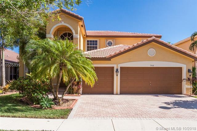 17468 SW 36th St, Miramar, FL 33029 (MLS #A10505039) :: Green Realty Properties