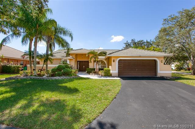 100 SW 121 St Way, Coral Springs, FL 33071 (MLS #A10548776) :: Prestige Realty Group