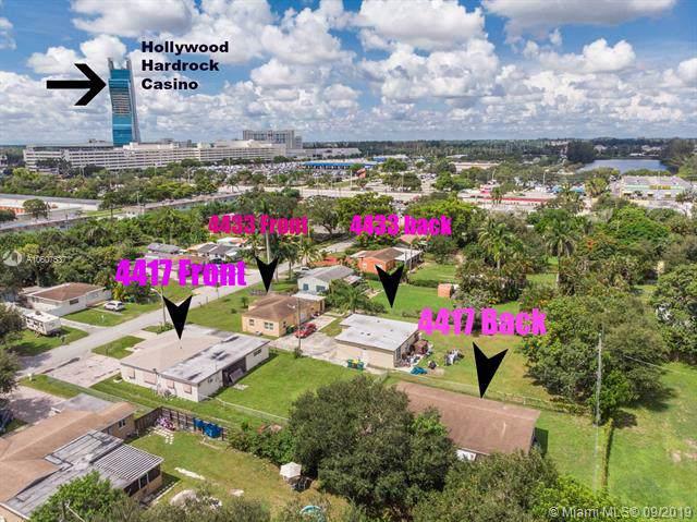 4433 & 4417 SW 52nd St, Dania Beach, FL 33314 (MLS #A10607537) :: Green Realty Properties