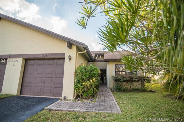 8121 NW 100th Dr #8121, Tamarac, FL 33321 (MLS #A10608884) :: Green Realty Properties