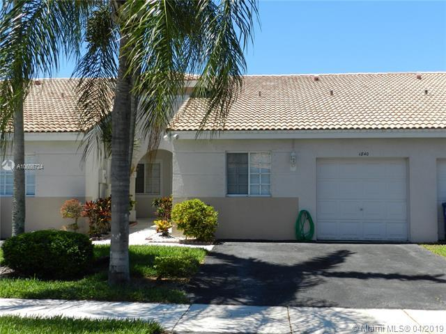 1840 SW 118th Ave, Miramar, FL 33025 (MLS #A10656724) :: Green Realty Properties