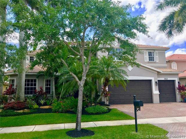 3823 E Coquina Way, Weston, FL 33332 (MLS #A10663879) :: The Teri Arbogast Team at Keller Williams Partners SW