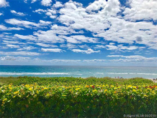 2727 N Ocean Blvd A202, Boca Raton, FL 33431 (MLS #A10673888) :: Ray De Leon with One Sotheby's International Realty