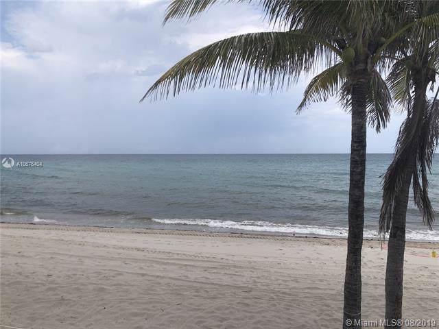 2030 S Ocean Dr #908, Hallandale, FL 33009 (MLS #A10676404) :: Grove Properties