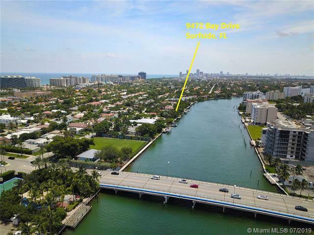 9472 Bay Dr, Surfside, FL 33154 (MLS #A10685988) :: Grove Properties