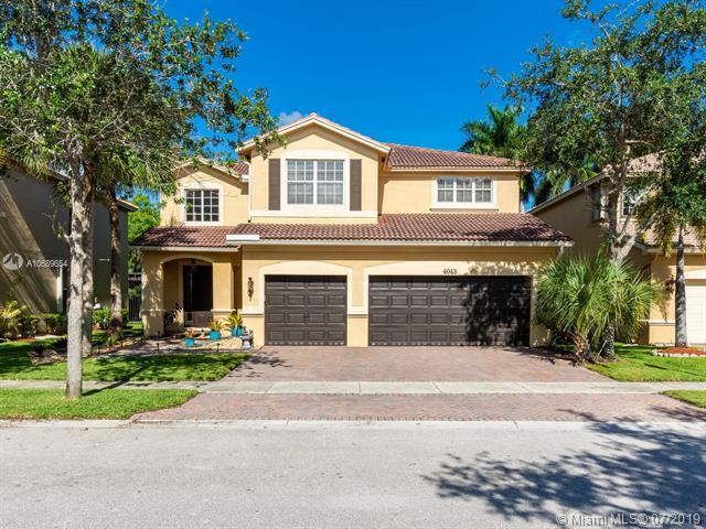 4043 Cascade Ter, Weston, FL 33332 (MLS #A10689654) :: The Teri Arbogast Team at Keller Williams Partners SW