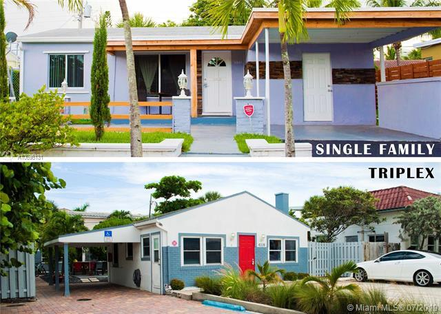 4328 N Ocean Dr 1-3, Lauderdale By The Sea, FL 33308 (MLS #A10695131) :: Grove Properties