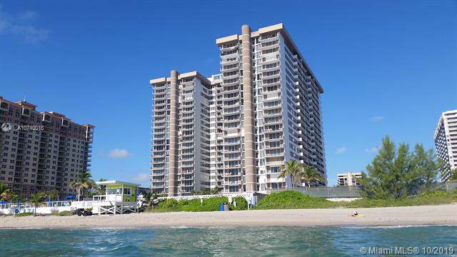2030 S Ocean Dr #418, Hallandale, FL 33009 (MLS #A10710018) :: Grove Properties