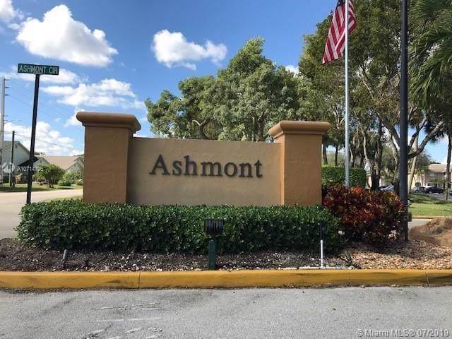 7446 Ashmont Cir #201, Tamarac, FL 33321 (MLS #A10714795) :: GK Realty Group LLC