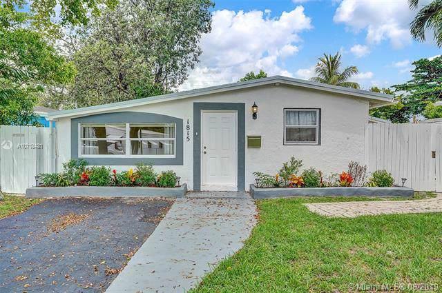 1815 NE 174th St, North Miami Beach, FL 33162 (MLS #A10718421) :: The Kurz Team
