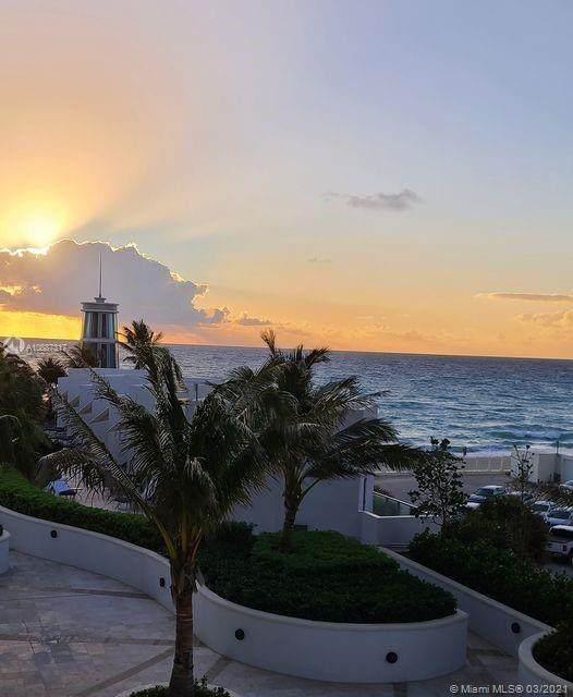 3101 S Ocean Dr #406, Hollywood, FL 33019 (MLS #A10887317) :: Green Realty Properties