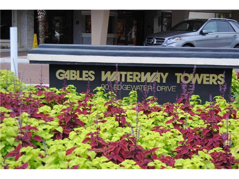 90 Edgewater Dr #210, Coral Gables, FL 33133 (MLS #A10154152) :: United Realty Group