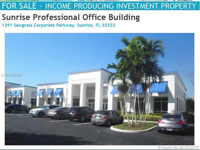 1391 Sawgrass Corporate Pkwy, Sunrise, FL 33323 (MLS #A10308569) :: Stanley Rosen Group