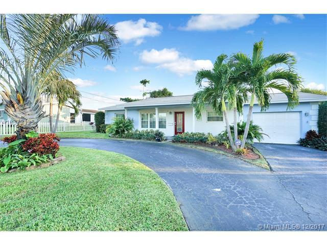 1800 NE 48th Ct, Fort Lauderdale, FL 33308 (MLS #A10372135) :: The Teri Arbogast Team at Keller Williams Partners SW