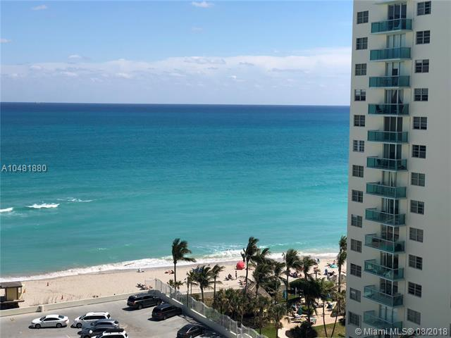 3725 S Ocean Dr #1218, Hollywood, FL 33019 (MLS #A10481880) :: Laurie Finkelstein Reader Team