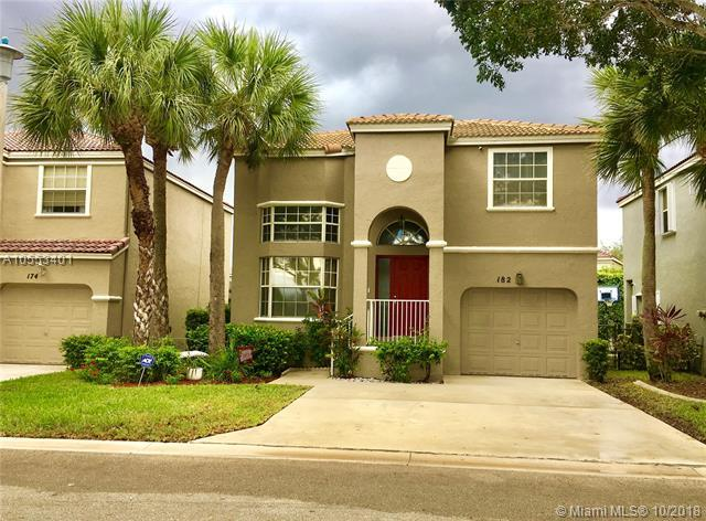 182 NW 117th Ave, Coral Springs, FL 33071 (MLS #A10553401) :: The Riley Smith Group