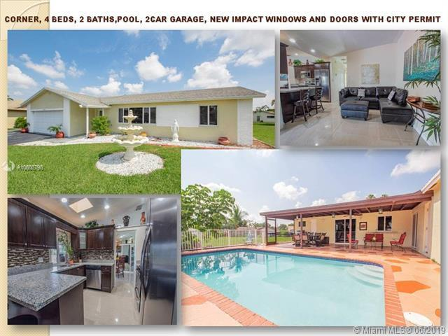 4900 SW 12th St, Margate, FL 33068 (MLS #A10686798) :: The Brickell Scoop