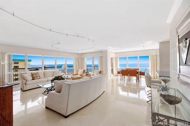 1800 S Ocean Blvd #605, Lauderdale By The Sea, FL 33062 (MLS #A10703137) :: The Kurz Team