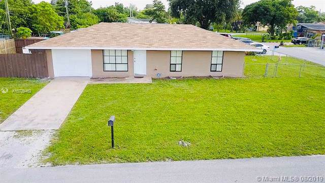 6204 SW 22nd St, Miramar, FL 33023 (MLS #A10729462) :: United Realty Group