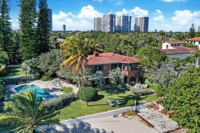 443 Ocean Blvd, Golden Beach, FL 33160 (MLS #A10972648) :: Carlos + Ellen