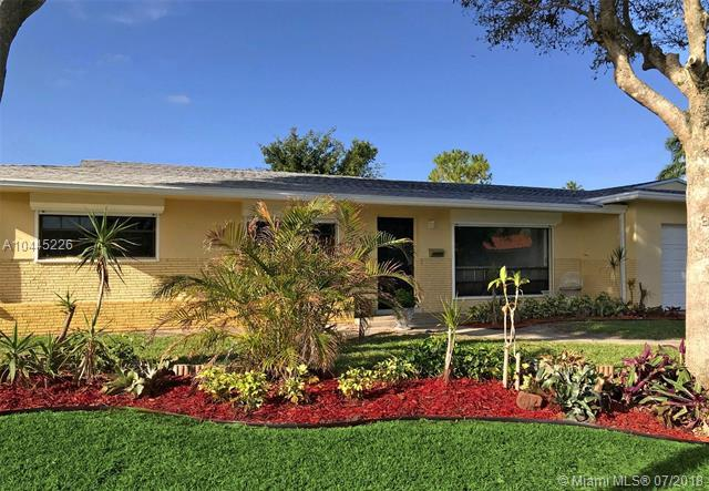 6000 SW 15th St, Plantation, FL 33317 (MLS #A10445226) :: Green Realty Properties