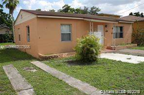1478 NW 43rd St, Miami, FL 33142 (MLS #A10537585) :: Grove Properties