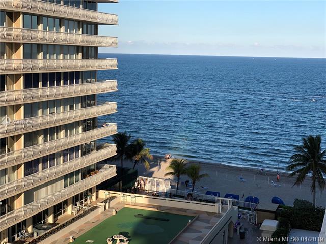 4010 Galt Ocean Dr #815, Fort Lauderdale, FL 33308 (MLS #A10655362) :: The Paiz Group