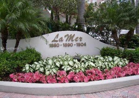 1890 S Ocean Dr #208, Hallandale Beach, FL 33009 (MLS #A10799154) :: Green Realty Properties