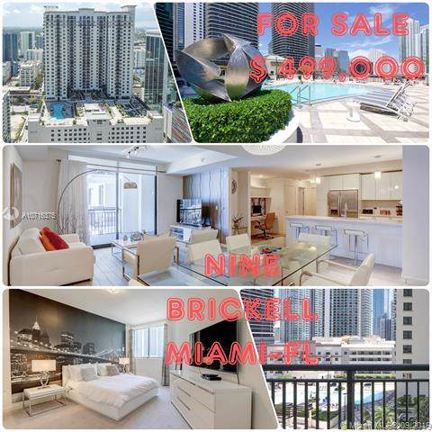 999 SW 1st Ave #1616, Miami, FL 33130 (MLS #A10716375) :: Grove Properties