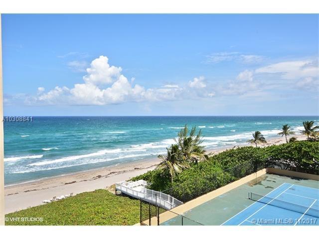 3407 S Ocean Blvd 6C, Highland Beach, FL 33487 (MLS #A10308841) :: The Teri Arbogast Team at Keller Williams Partners SW