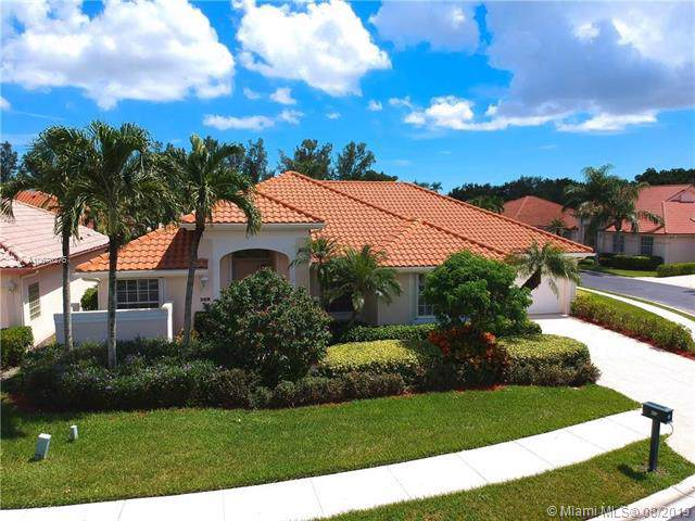 209 Eagleton Estate Blvd, Palm Beach Gardens, FL 33418 (MLS #A10670275) :: The Kurz Team