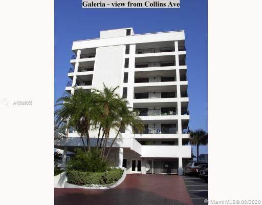 5415 Collins Av #304, Miami Beach, FL 33140 (MLS #A10599053) :: ONE Sotheby's International Realty