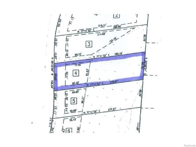 0 Braeburn, Saint Clair Twp, MI 48079 (#216019061) :: The Buckley Jolley Real Estate Team