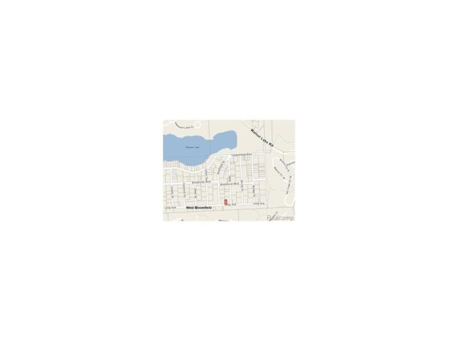 0000 Long Street, West Bloomfield Twp, MI 48304 (#217035182) :: RE/MAX Classic