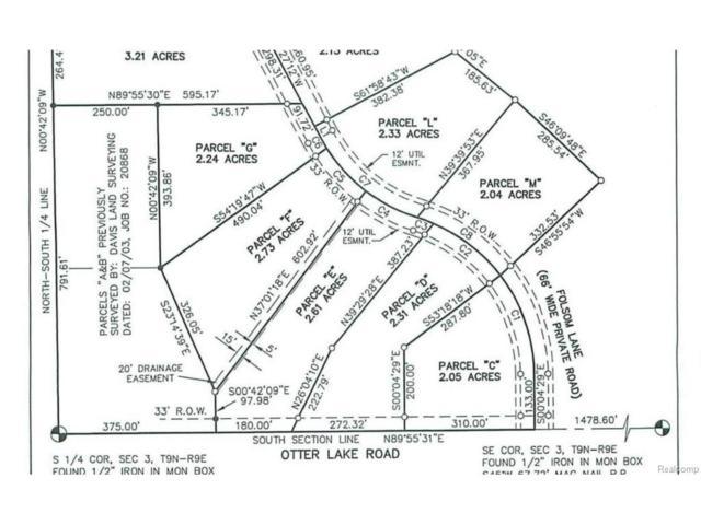 Parcel M Folsom Lane Road, Marathon Twp, MI 48464 (#217037405) :: Simon Thomas Homes