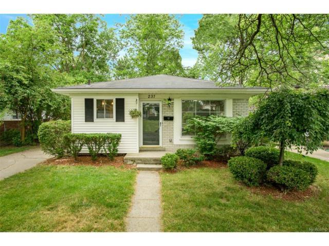 237 N Alice Avenue, Rochester, MI 48307 (#217051423) :: Simon Thomas Homes