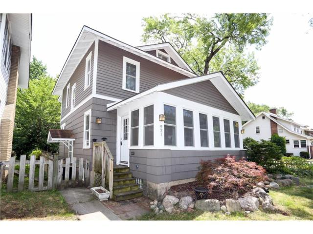 921 Longfellow Avenue, Royal Oak, MI 48067 (#217052884) :: RE/MAX Vision