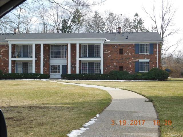 448 Fox Hills Drive S #6, Bloomfield Twp, MI 48304 (#217053742) :: Simon Thomas Homes