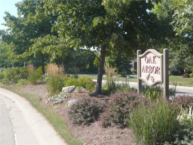 372 Oak Arbor Crest Court, Oakland Twp, MI 48306 (MLS #217069160) :: The Toth Team