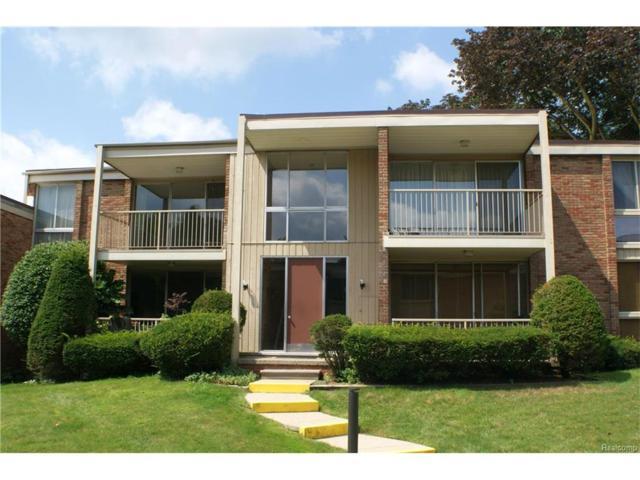 4047 W Maple Road #203, Bloomfield Twp, MI 48301 (#217072623) :: Simon Thomas Homes
