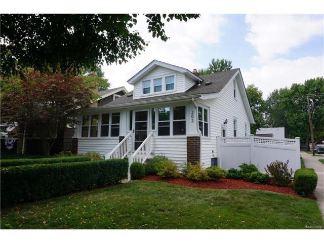 202 S Connecticut Avenue, Royal Oak, MI 48067 (#217073840) :: RE/MAX Vision