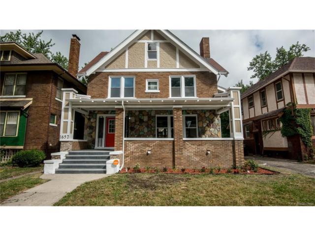 1652 Edison Street, Detroit, MI 48206 (#217074052) :: Metro Detroit Realty Team | eXp Realty LLC
