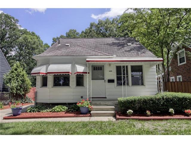 1415 Longfellow Avenue, Royal Oak, MI 48067 (#217074457) :: RE/MAX Vision