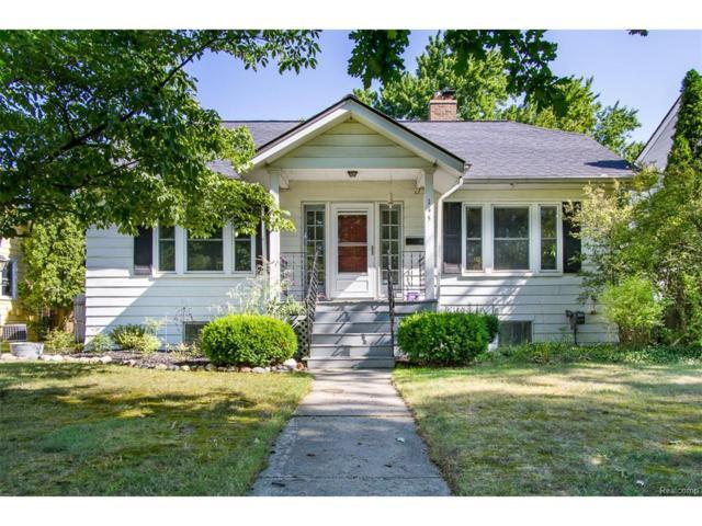 145 Highland Avenue, Rochester, MI 48307 (#217074797) :: Simon Thomas Homes