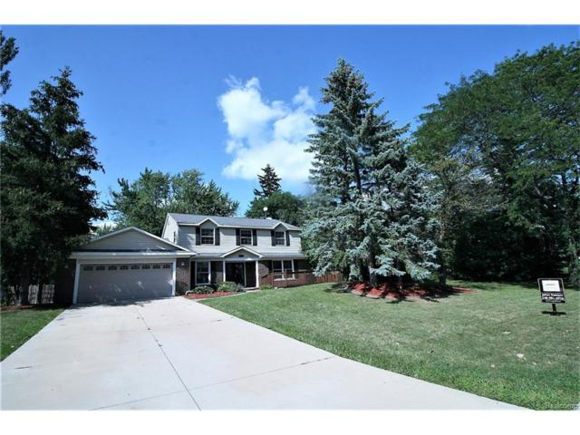 3660 Valleyview Lane, West Bloomfield Twp, MI 48323 (#217074860) :: RE/MAX Vision